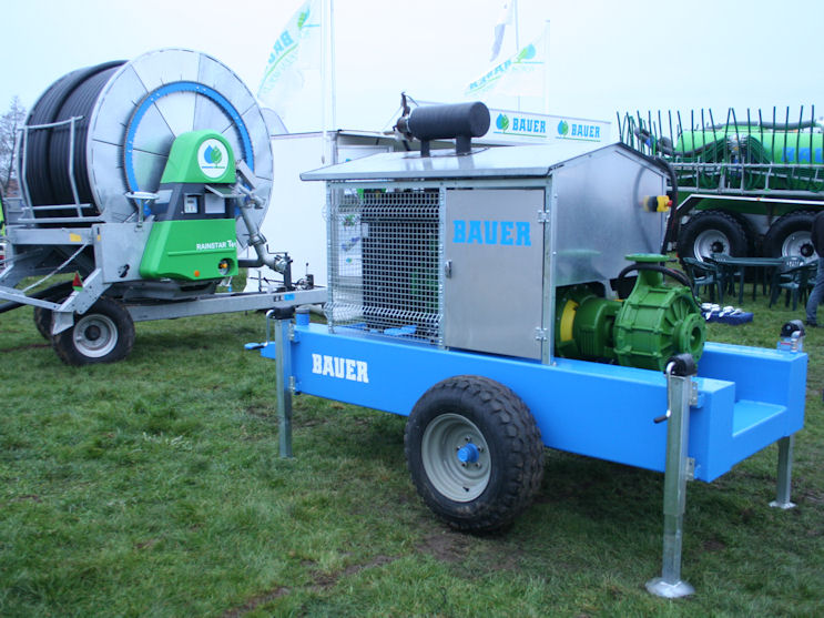 Bauer irrigation diesel pumps feature at LAMMA - FarmingUK News