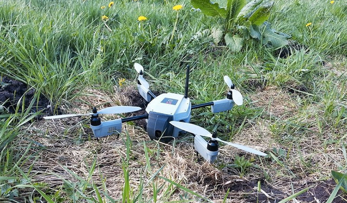 Drones 'rapidly changing' agriculture