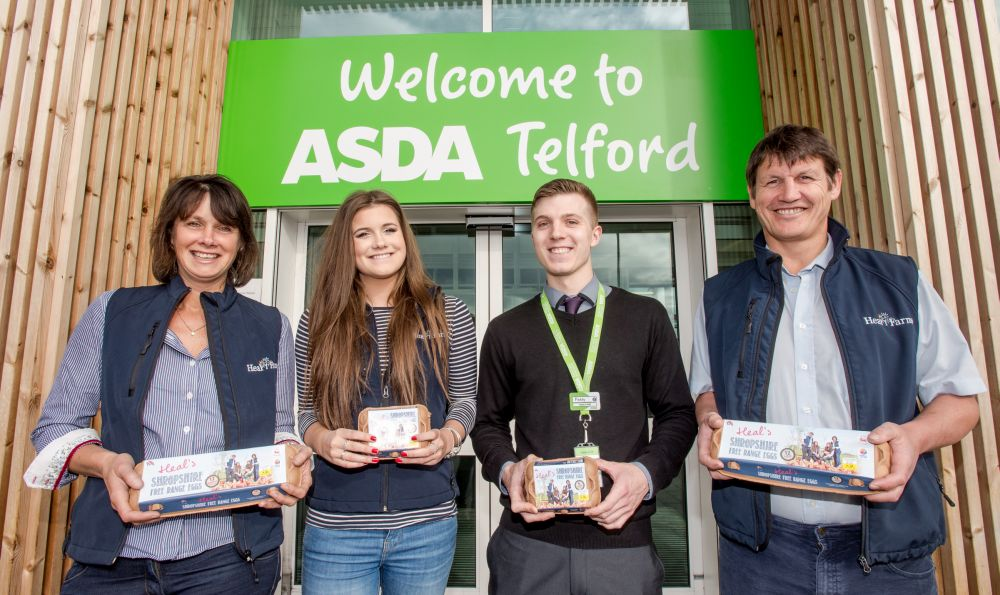 LJ Fairburn & Son launch Shropshire egg brand into ASDA