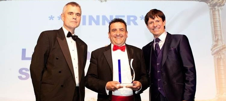 Organic dairy farmer Lyndon Edwards wins Dairy Ambassador of the Year award