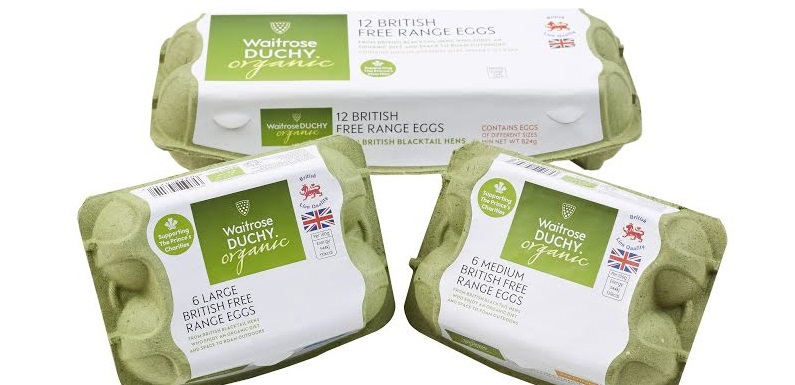 Ryegrass whisks up Waitrose egg boxes in UK first