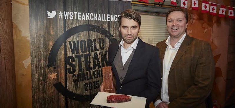 Australia secures 4 Gold Medals and also the title World Best Steak at a global competition staged in London yesterday