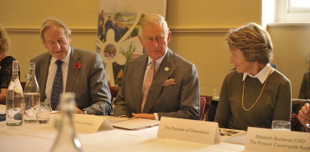 Prince Charles joins a crisis summit of key figures in the rural sector