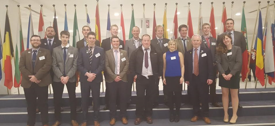NFU Cymru 'Next Generation Policy Group' visits Brussels to represent young farmers