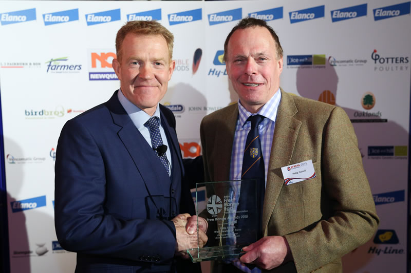 'Countryfile' star Adam Henson presents awards at British Free Range Egg Conference
