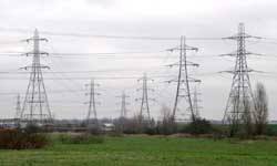 Extra payments for telephone wires on farmland