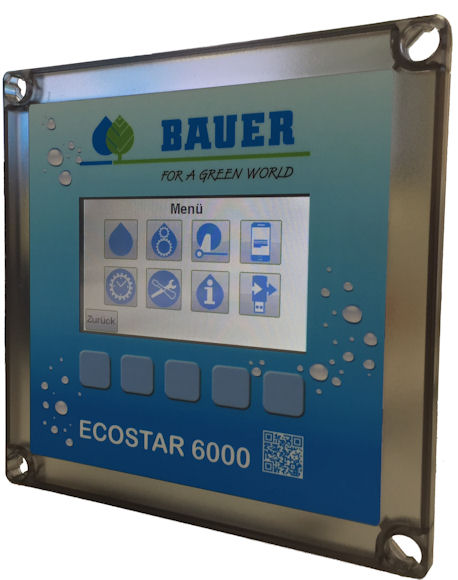 More advanced controller for Bauer Rainstar reel irrigators