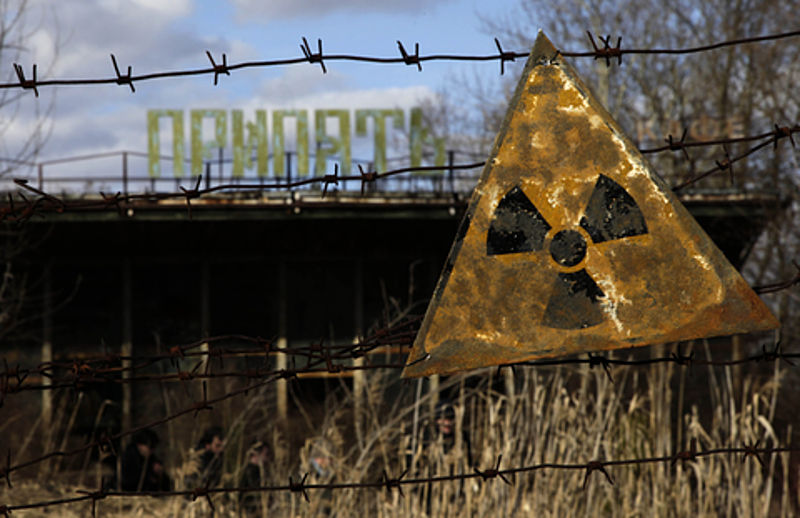 University team in Chernobyl, Ukraine to study how radioactive isotopes can affect agriculture
