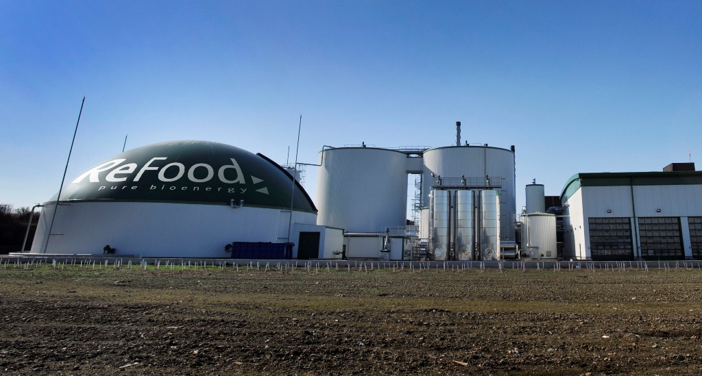 Sainsbury's turns food waste into energy using anaerobic digestion