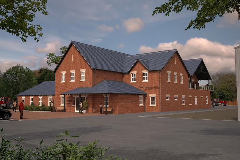 Work well underway on new, state-of-the-art centre on Myerscough's Lodge Farm