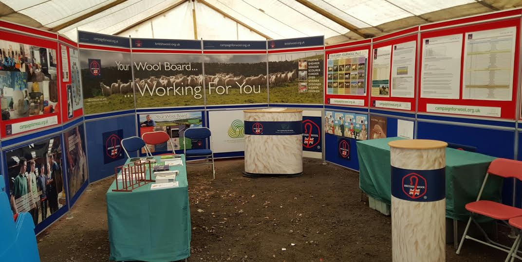 Wool weaves its message at Royal Cornwall Show