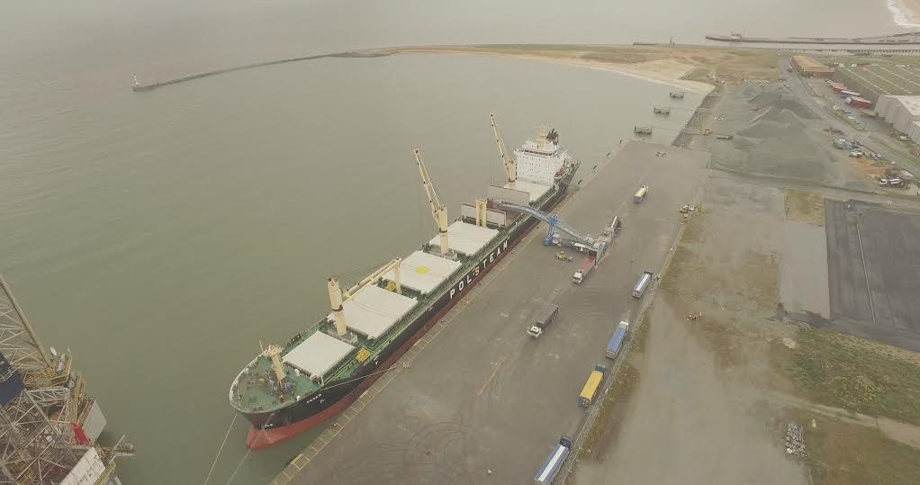 Millionth tonne of grain exported through Great Yarmouth deep-water port