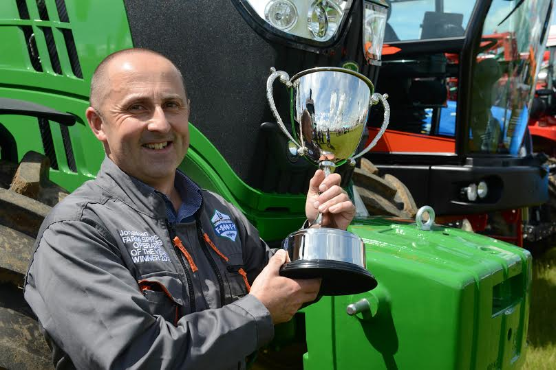 Suffolk operator wins National Farm Sprayer Award