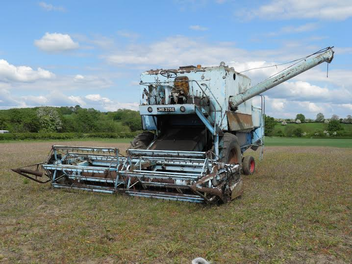 Vintage tractors, combine harvesters and implements on offer in farm dispersal auction