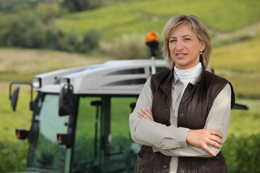 'Promoting women in agriculture is not a new thing, but it is now building into a positive force'