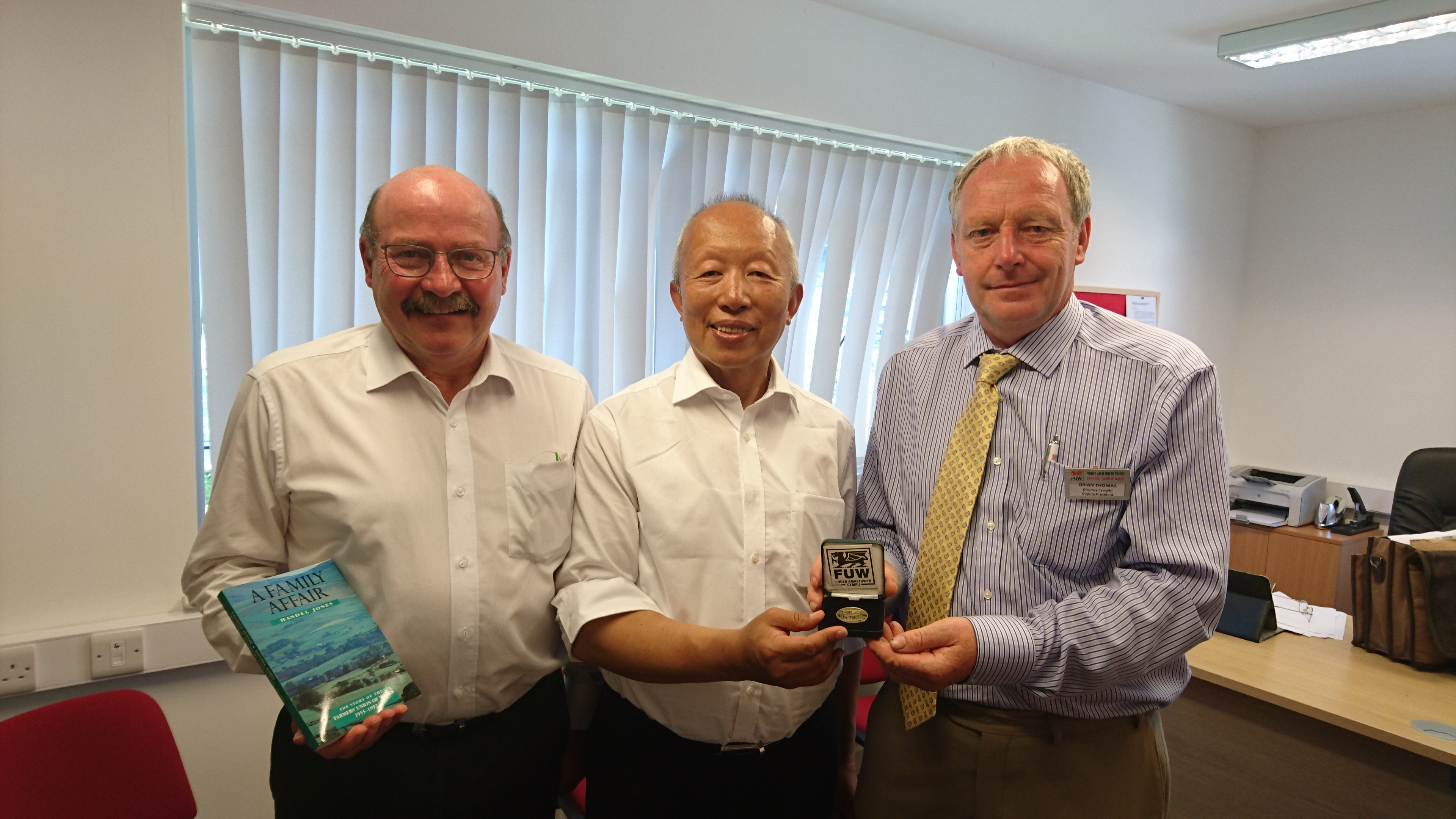 Chinese dairy company arrives at Royal Welsh Show to support British industry