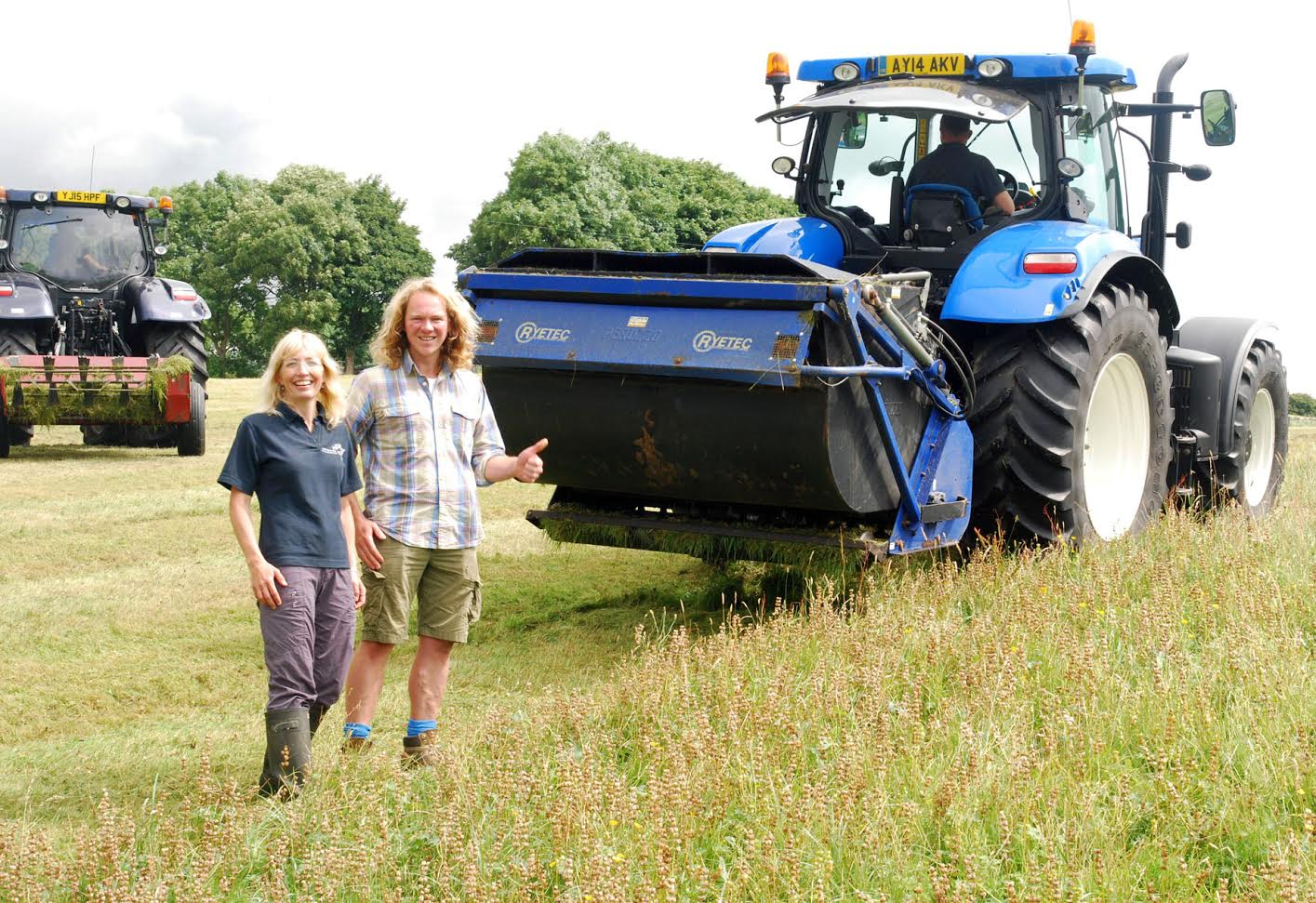 Yorkshire Dales Trust celebrates 10 years of making meadows