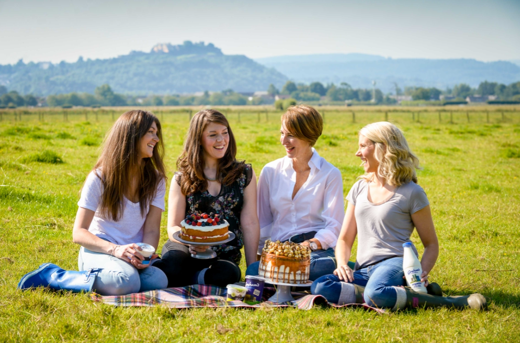 Three Sisters Bake up a treat with Graham's The Family Dairy
