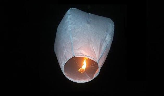 NFU creates a new leaflet warning of sky lantern dangers