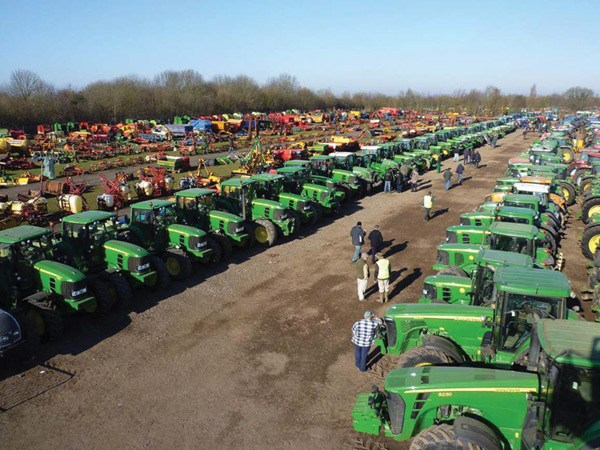 In total, over 70,000 tractors have been sold at Cheffins' auctions throughout the past 20 years