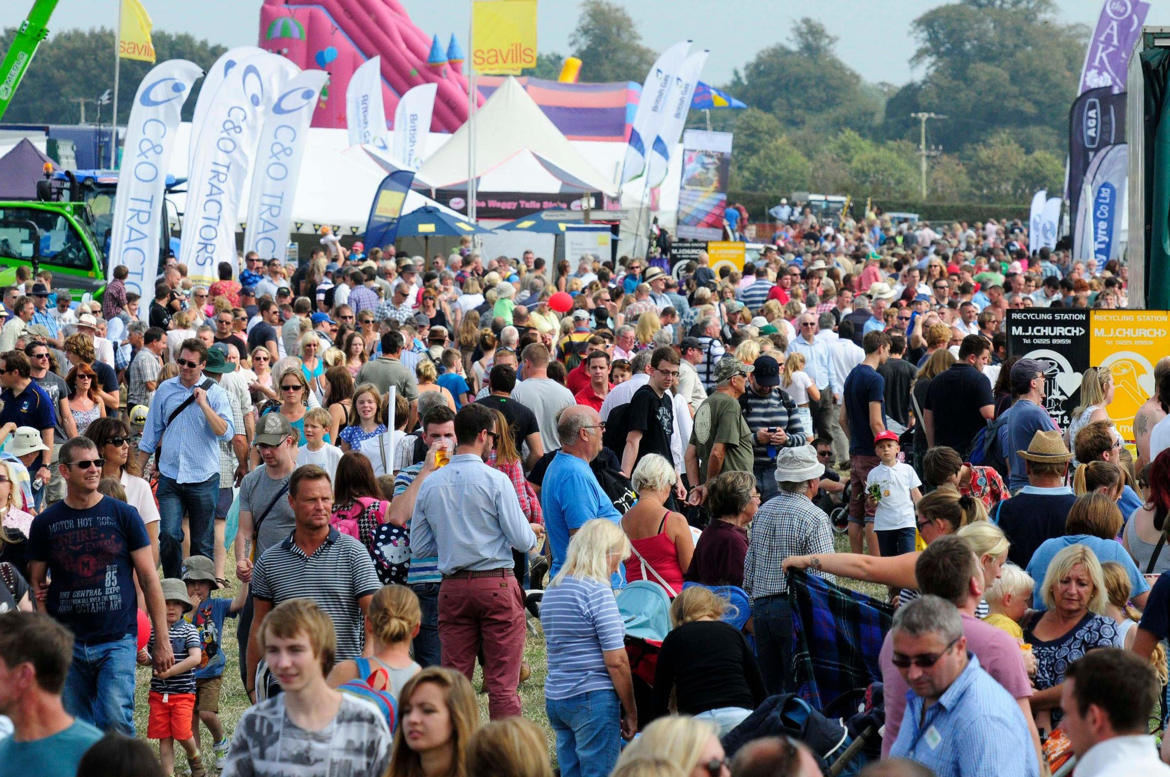 Farmers will have a chance to discuss Brexit opinions at the Dorset County Show