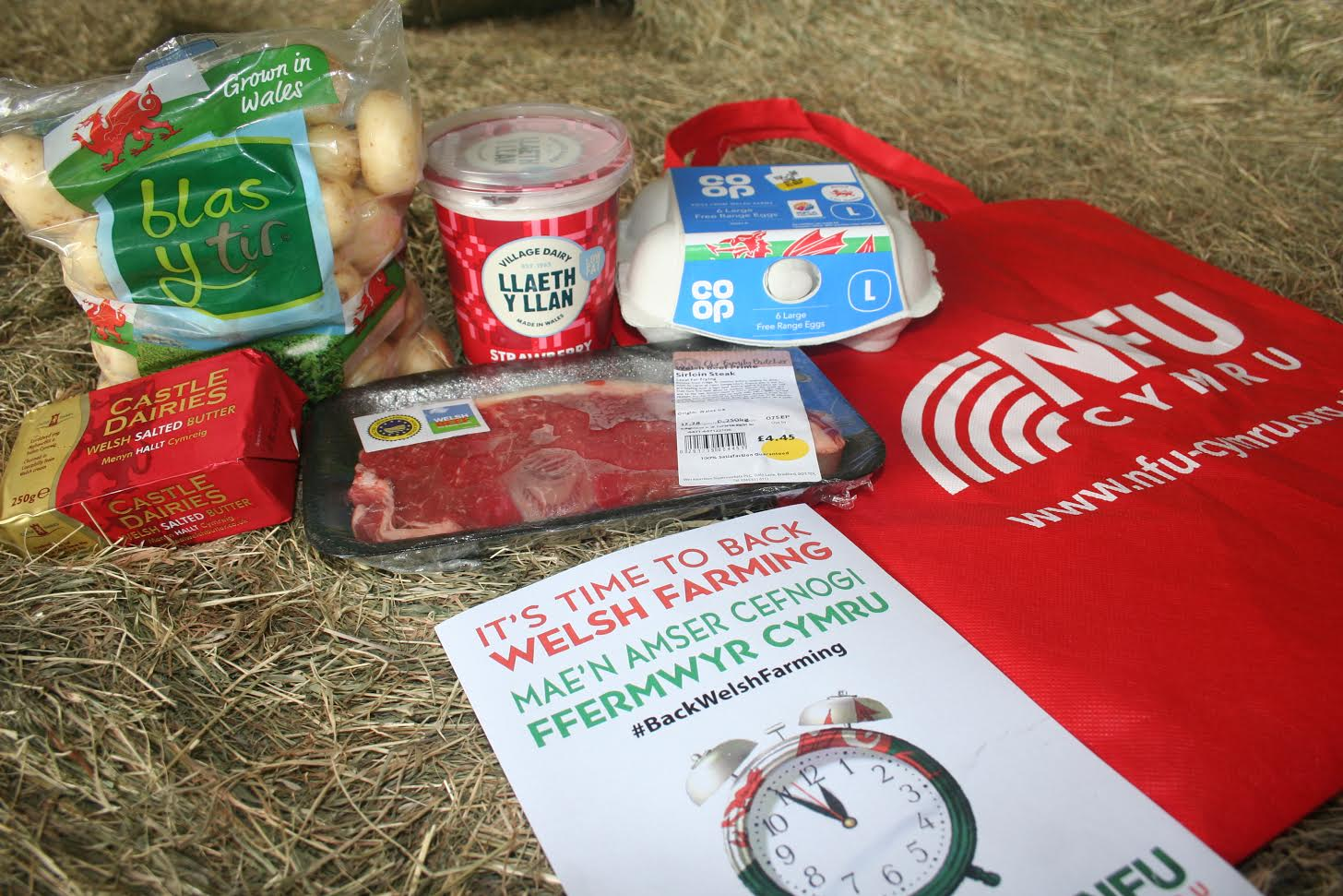 Farming union urges Welsh consumers to #Buy5 items of Welsh produce when shopping