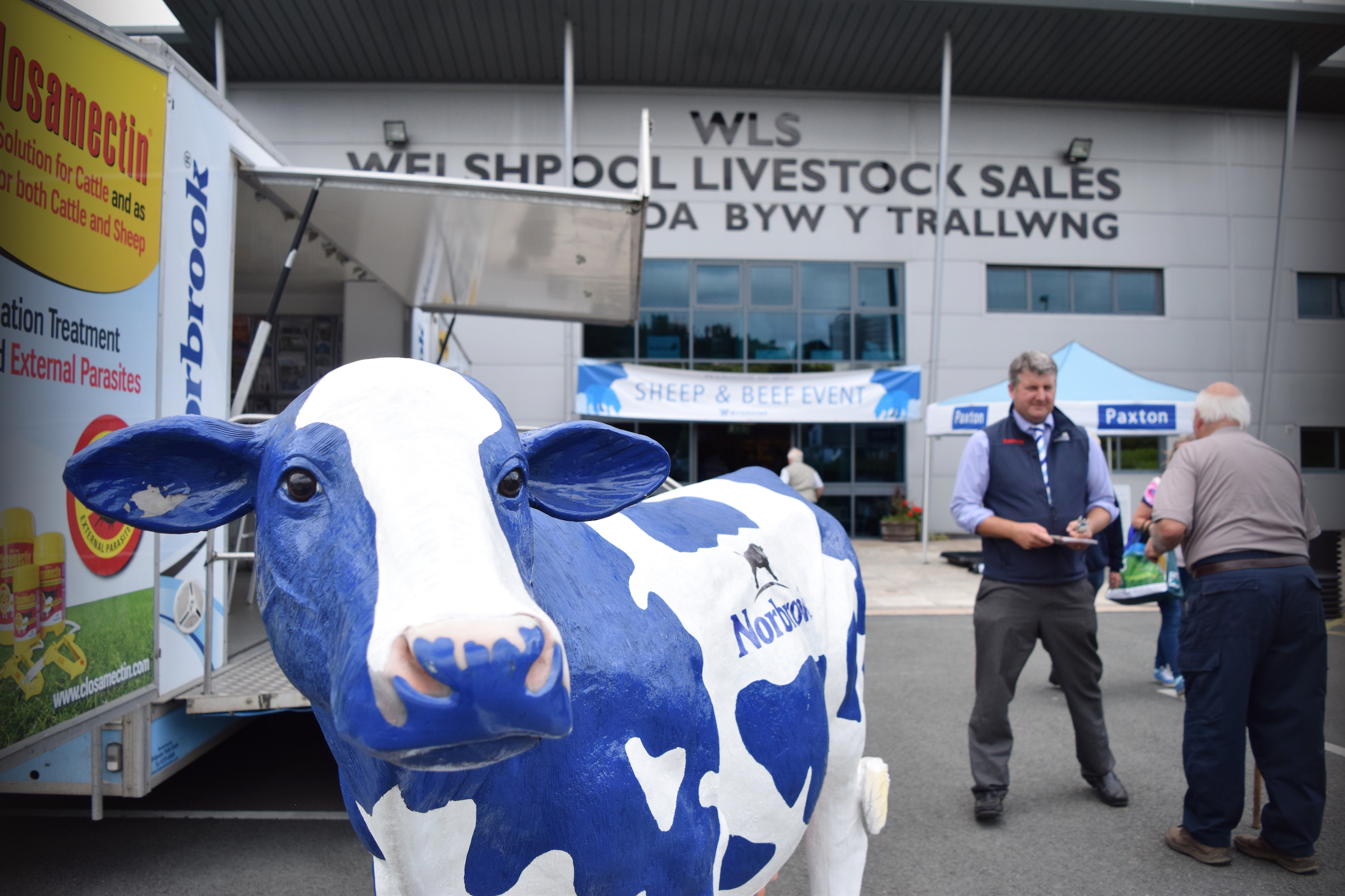 Wynnstay hosts sector showcase for sheep and beef farmers‏