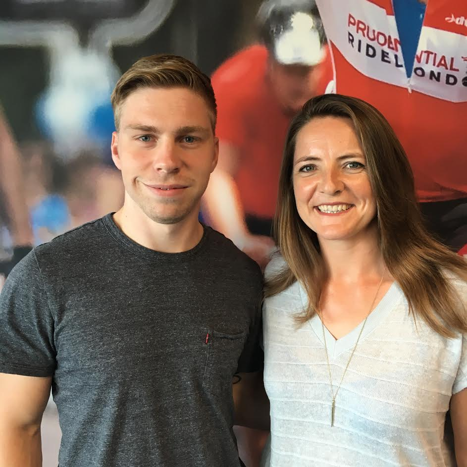 olympians attend nutrition event to showcase benefits of dairy philip hindes mbe and goldie sayers