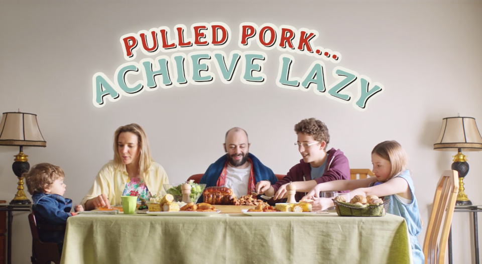 The Pulled Pork campaign is the first execution of a longer term plan to rejuvenate the image of pork