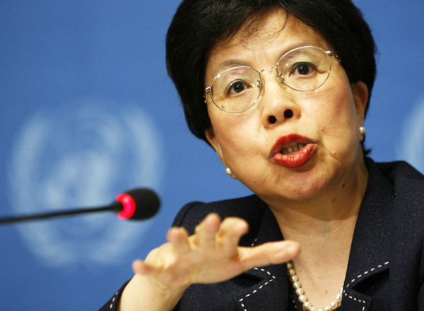 """""""We are running out of time,"""" said Dr Margaret Chan, Director-General of WHO"""