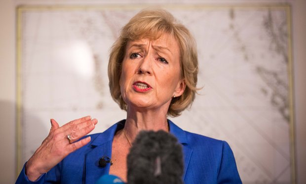 """There is a real risk"": Andrea Leadsom, Defra Secretary"