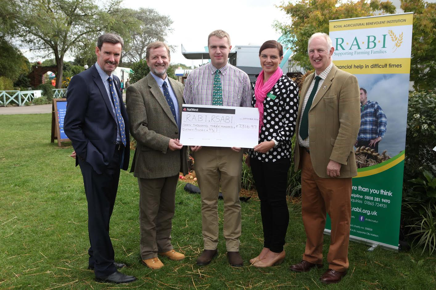 18 year old Jack travels over 1000 miles and raises £7316 for rural charities