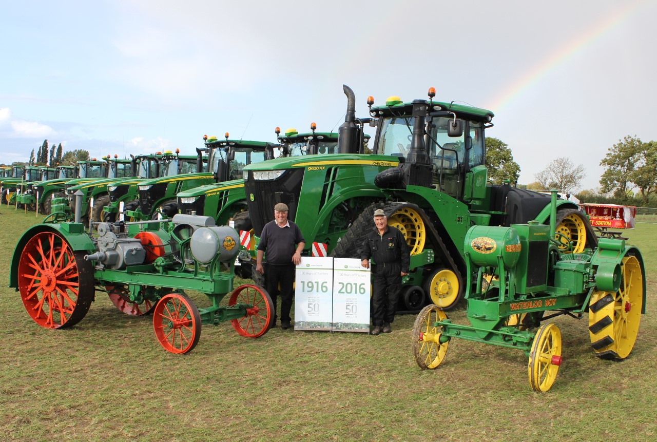 Huge success for John Deere's 50th anniversary event