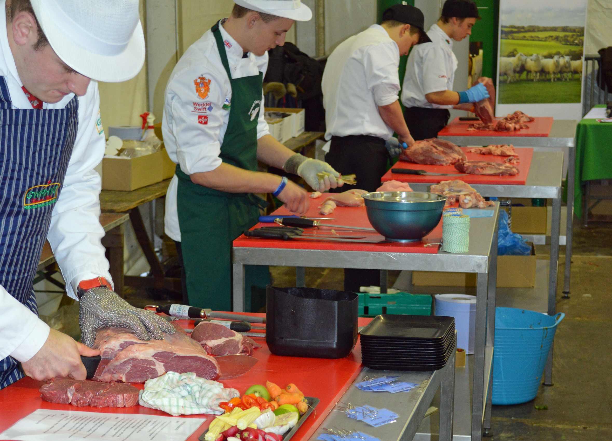 Butchers aim to be top of the chops at Royal Welsh Winter Fair