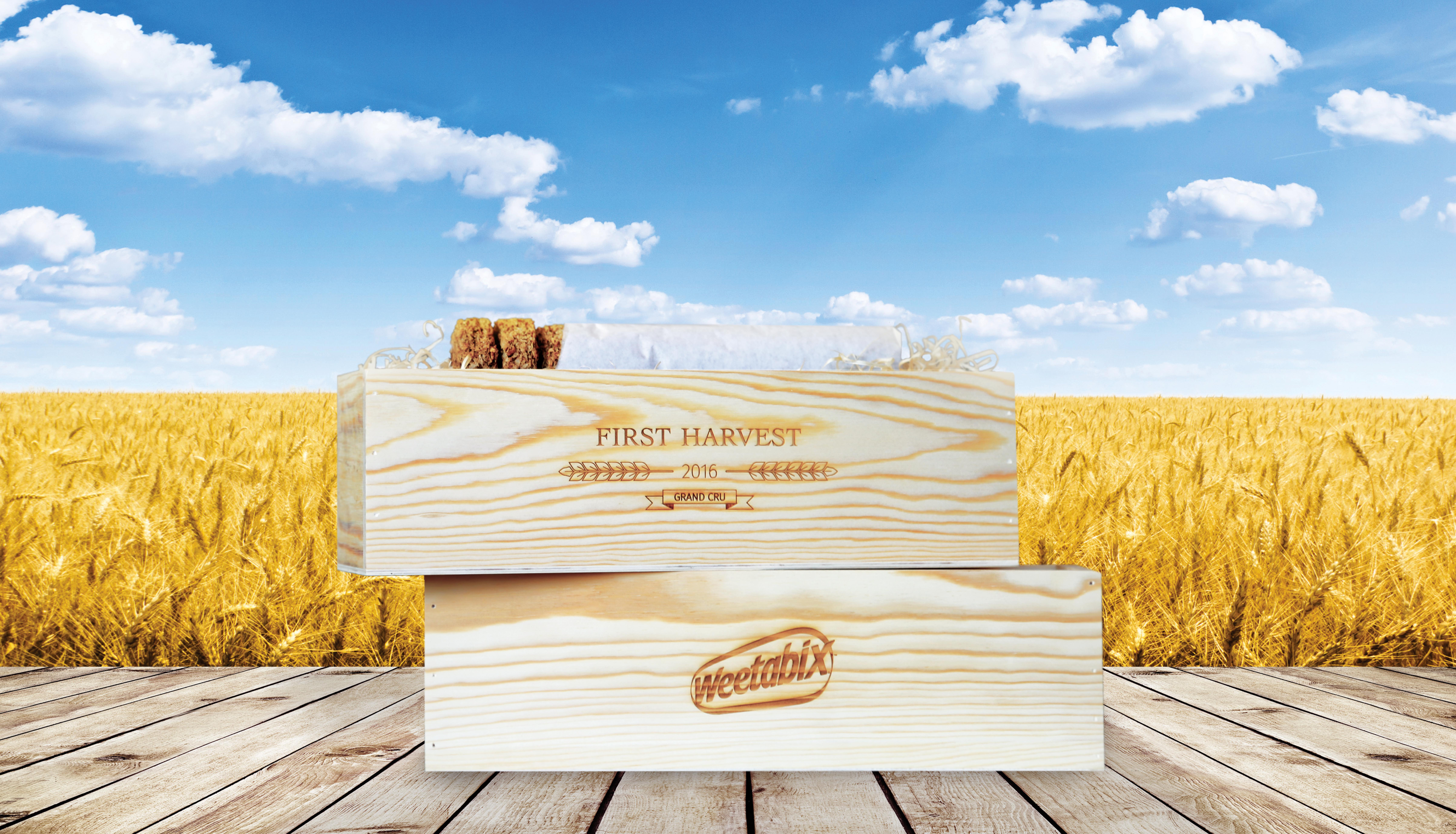 Weetabix marks 2016 harvest with limited edition boxes