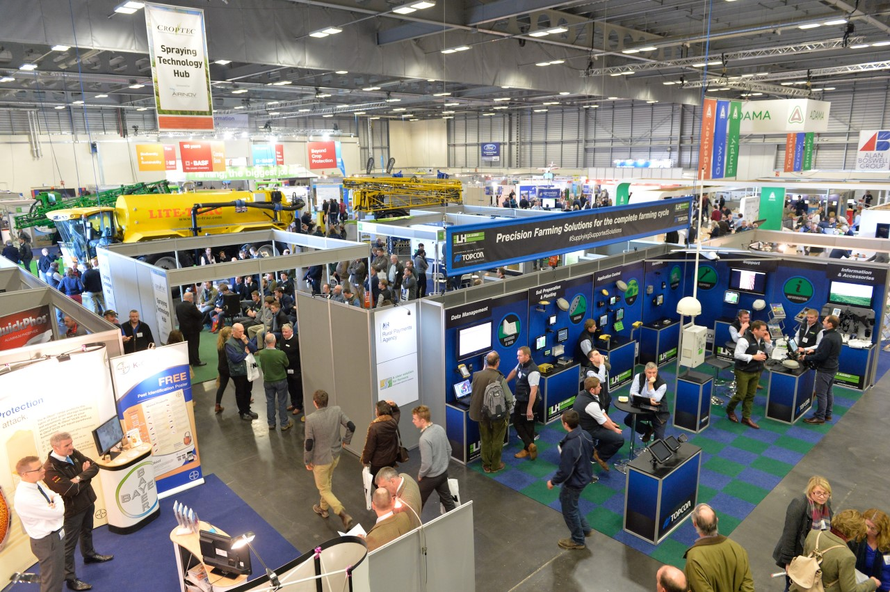 New ideas, novel designs: Innovative systems and equipment at CropTec 2016