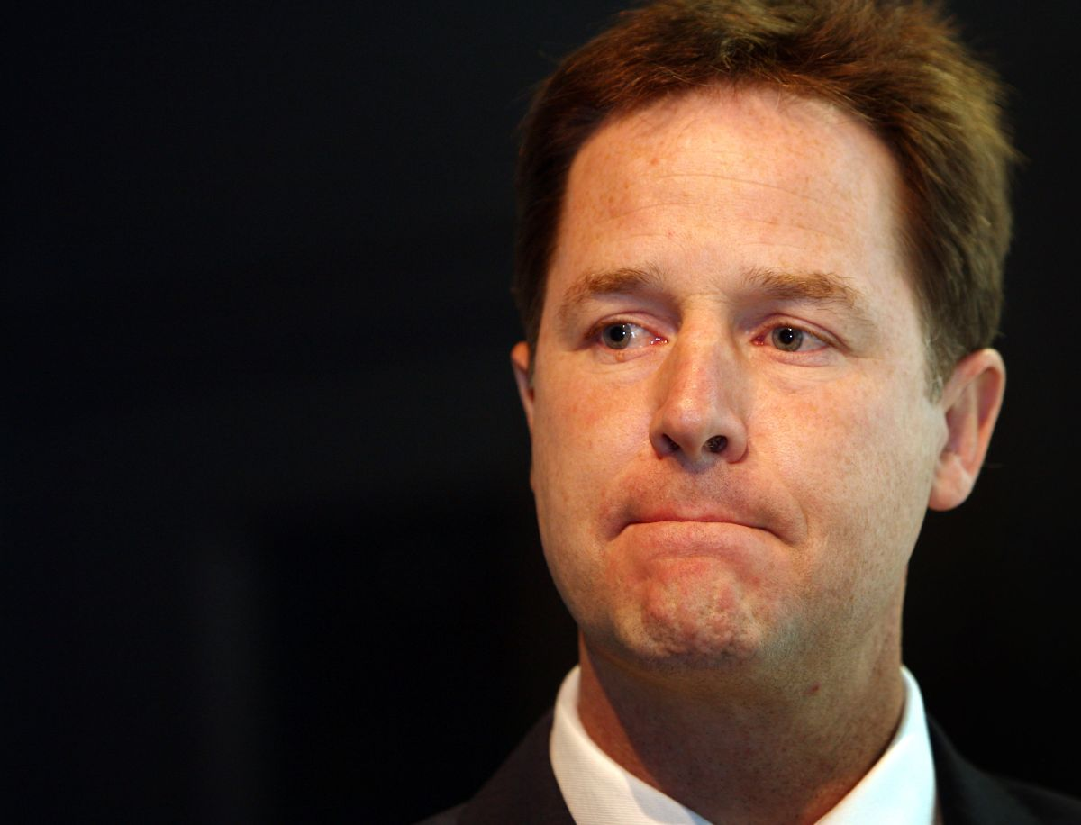 Nick Clegg, the Liberal Democrat EU Spokesman, says tariffs will cause a 'significant increase' in food prices