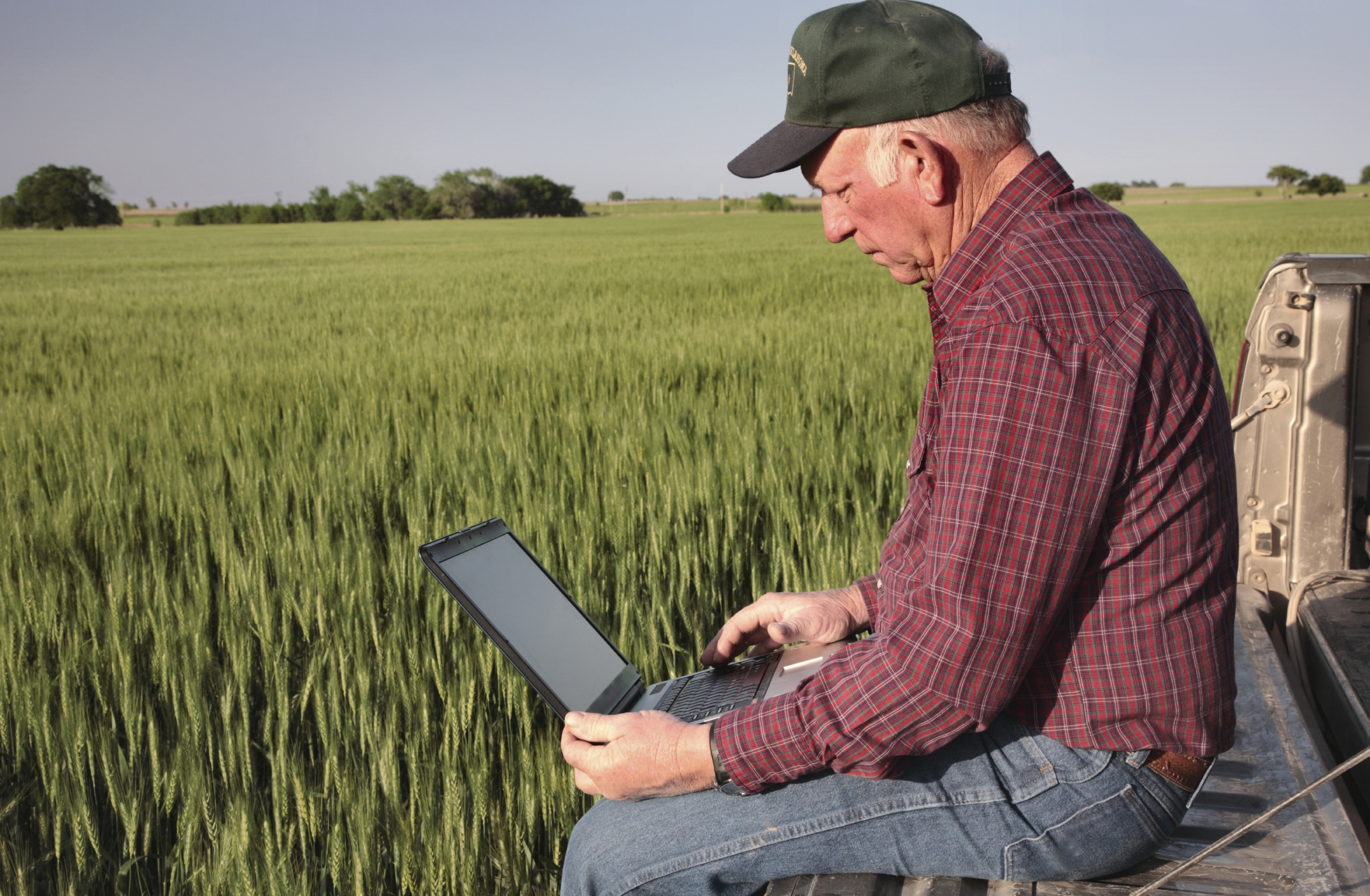 There will also be a number of farmers out there concerned about the quality of their internet connection