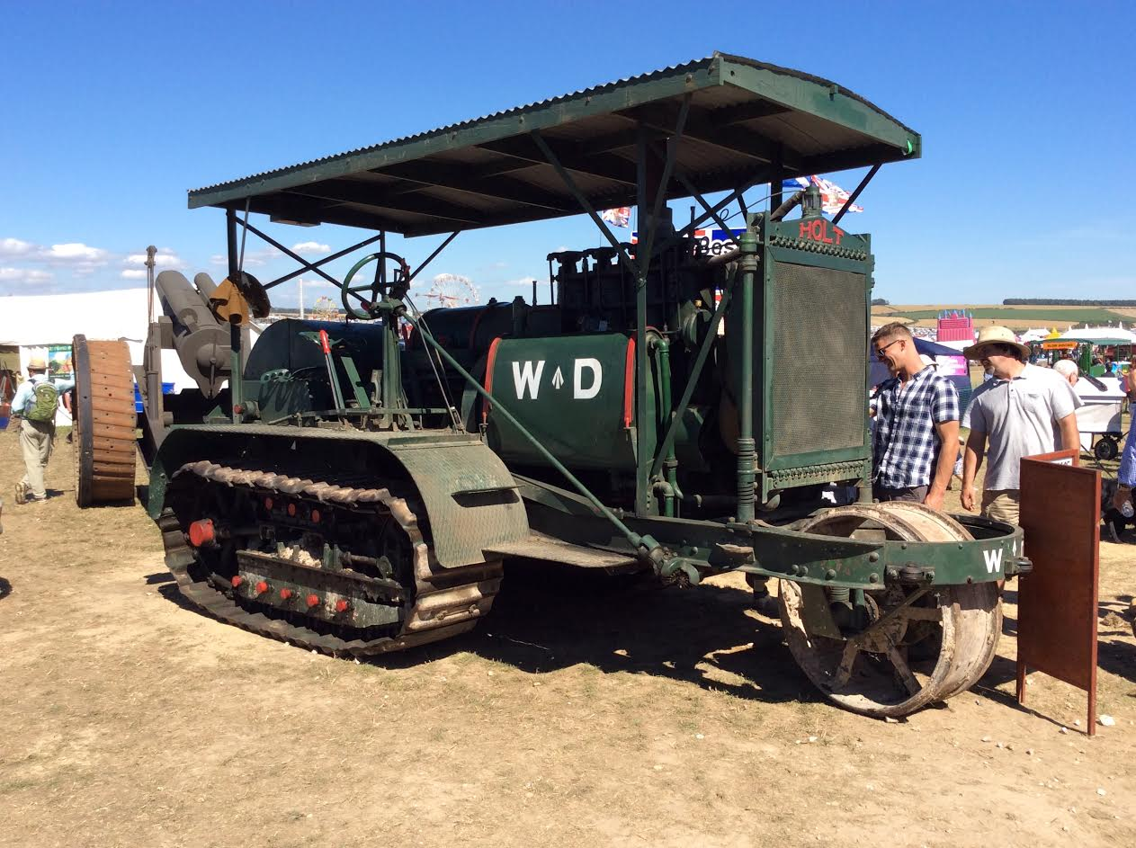 Extremely rare vintage tractor, Holt 75, makes £62,000