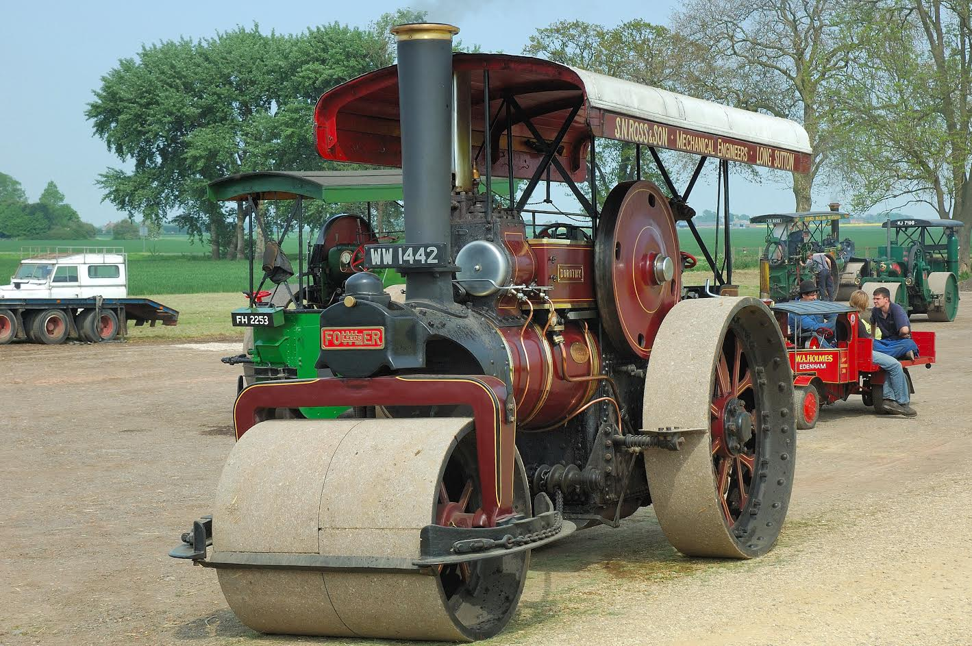 Over £237,000 spent on four steam engines