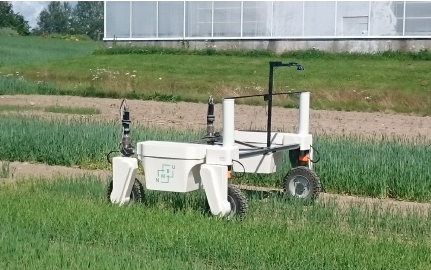 The new mobile robot will support agri-tech experiments in the field