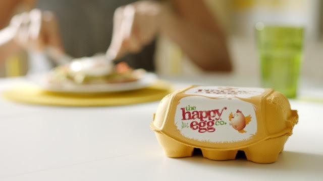 the happy egg co., the UK's largest free-range egg brand