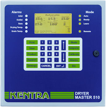 New grain dryer control system simplifies harvest management