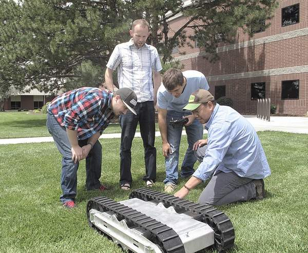 Farm robot 'IdaBot' aims to take mundane tasks from farmers