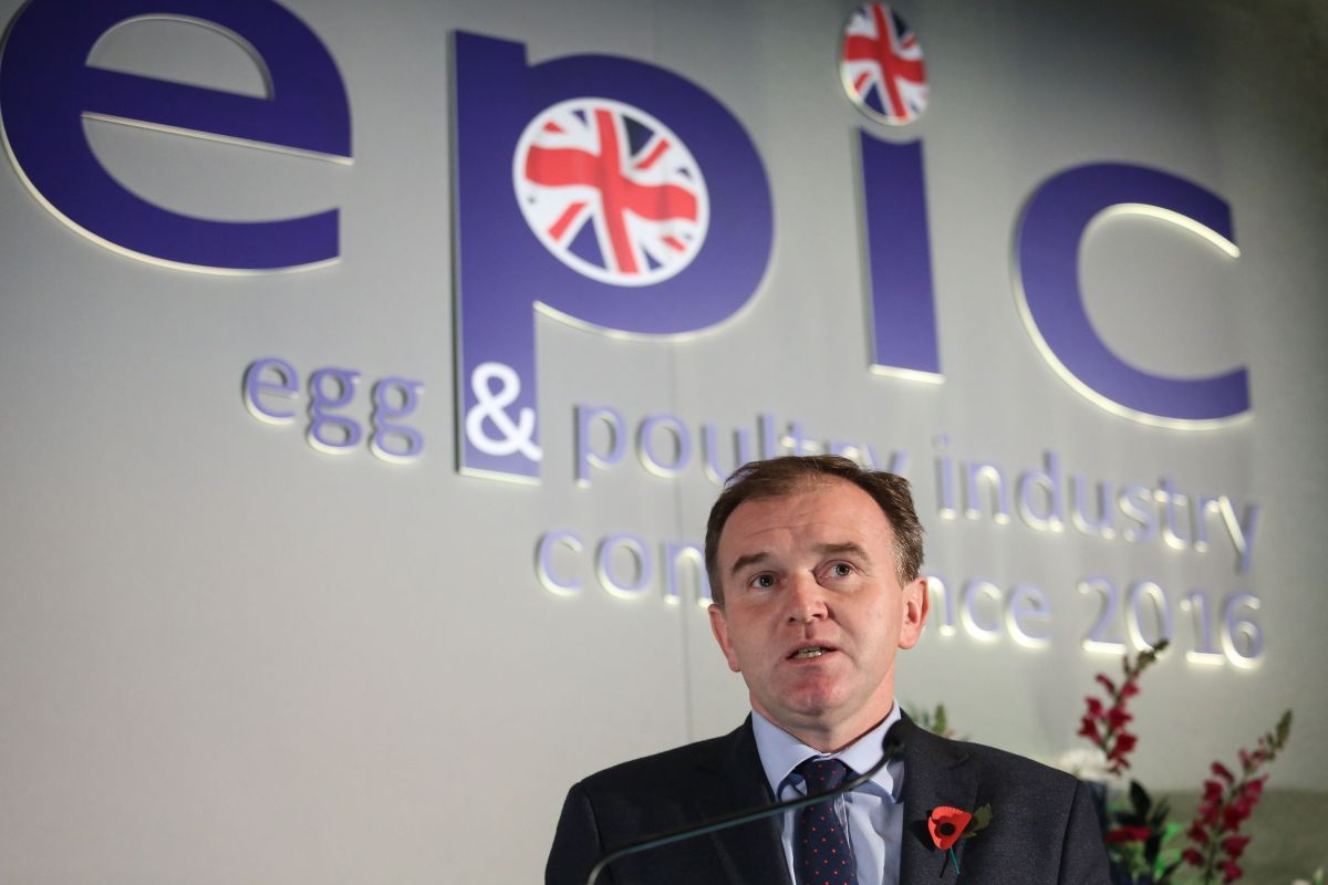 Farming Minister George Eustice attempts to calm post-Brexit labour fears
