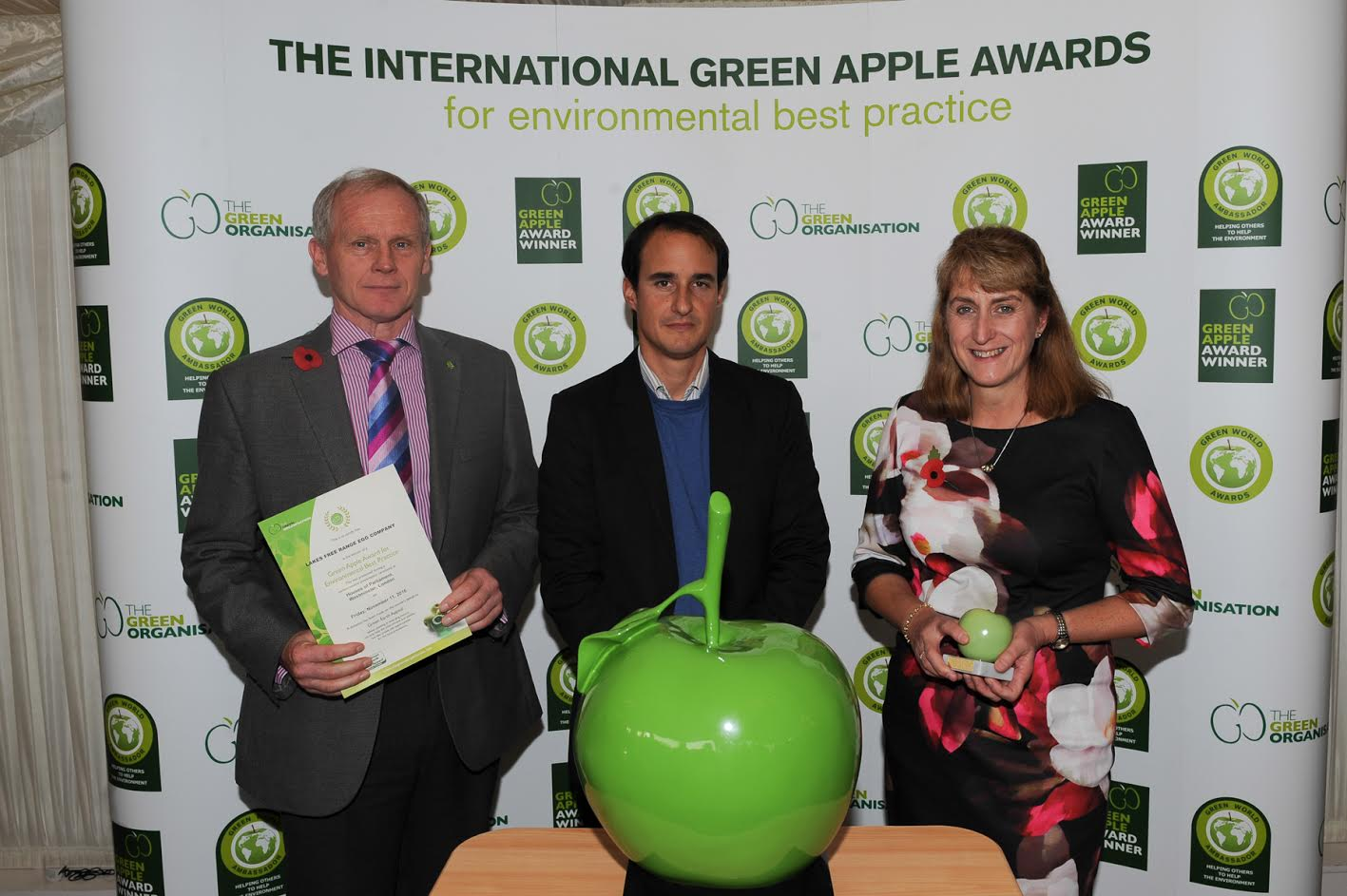 The greenest companies: Golden Apple Award for Lakes Free Range Egg Company