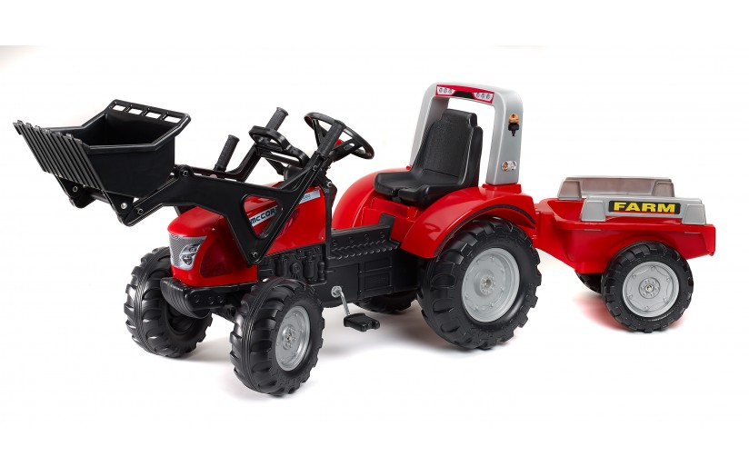 New McCormick X7.680 tractor has twin pedal 'vario' transmission