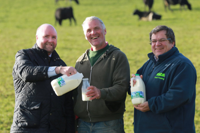 Asda to stock 'Farmers' Milk' to help NI's dairy farmers