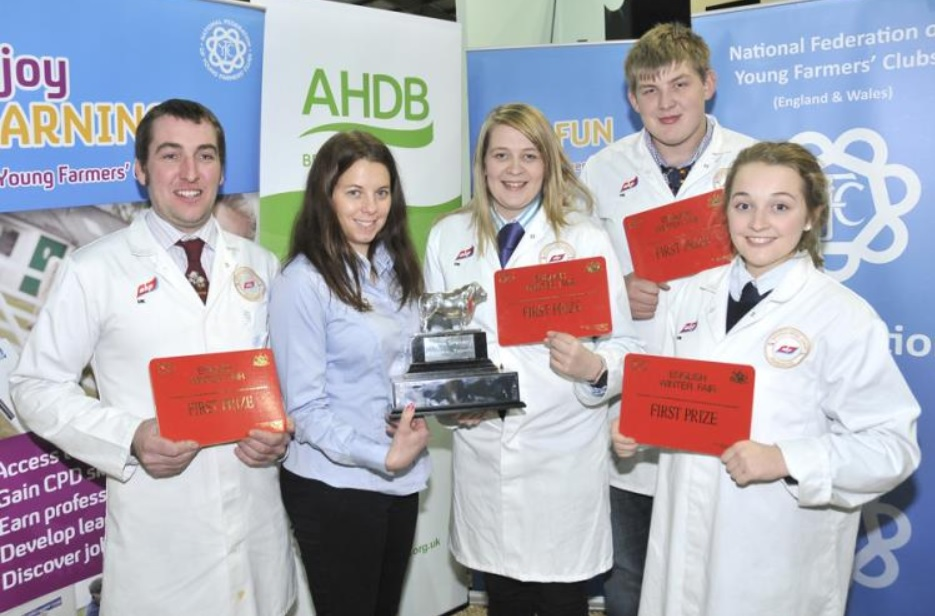 Young farmers show industry in safe hands with stockjudging excellence