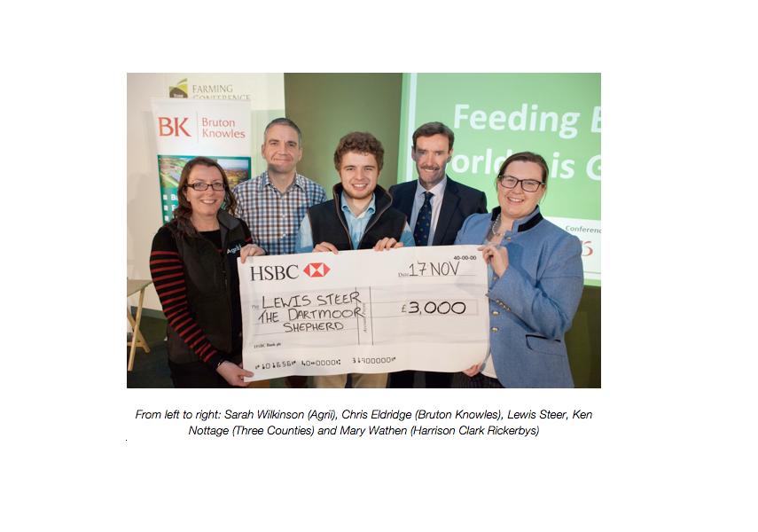 Young Dartmoor shepherd wins Rural Entrepreneur Award